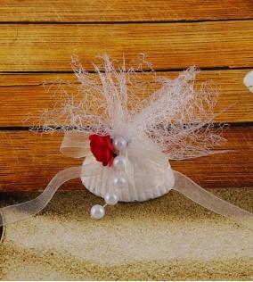 İncili Deniz Kabuğu Nikah Şekeri