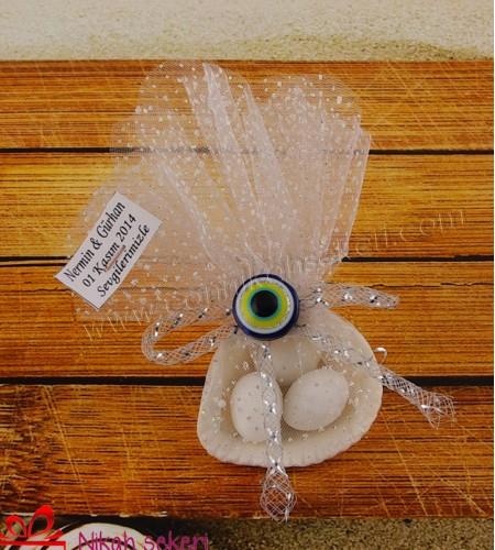 Deniz Kabuğu Nikah Şekeri DK19