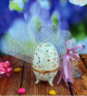Porselen Yumurta Nikah Şekeri PR20