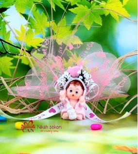 Bornozlu Kız Bebek