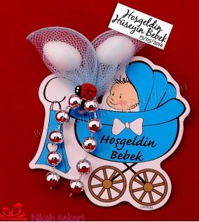 Karikatürlü Magnet Bebek Şekeri MBS1