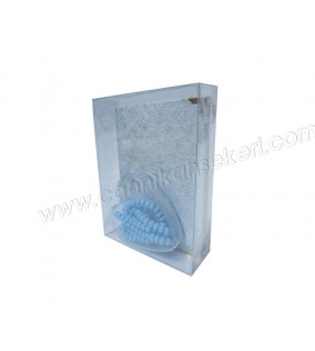 Asetat Kutu Yasin / Tesbih Kutusu 3,5x10,5x15cm 50'li