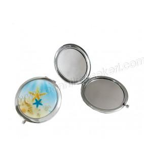 Ayna Kapaklı Metal Yıldızlı