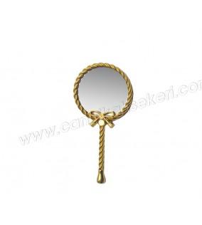 Ayna Kelebekli Burgulu Altın
