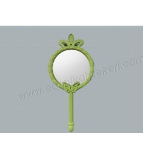 Ayna Kelebekli Ve Taçlı Yeşil