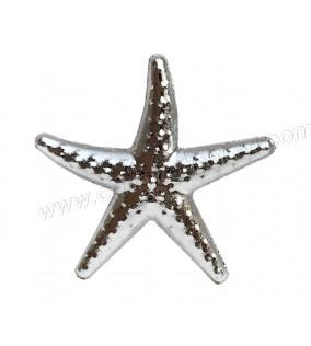 Deniz Yıldızı Plastik Minik Gümüş 100'lü