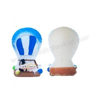 Gelin Damat Uçan Balonda Biblo