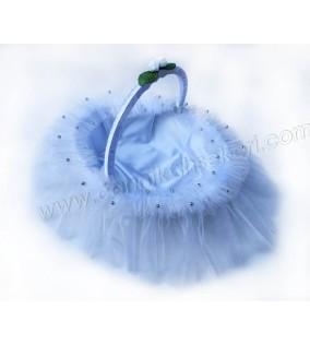 Kına Sepeti Kabarık Model Beyaz