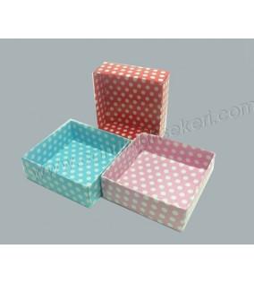 Karton Kutu 3*8*8 Mavi 50'li