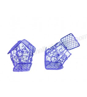 Kuş Kafesi Ev Modeli Lila