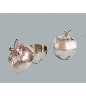 Lokumluk Elma Gümüş Renkli