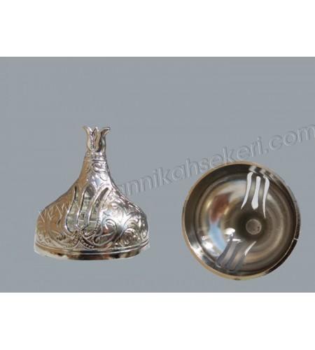 Metal Kavanoz Kubbesi Gümüş