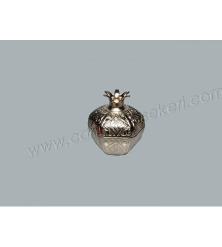 Metal Nar Lokumluk Gümüş Büyük