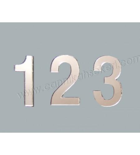 RAKAM AYNA PLEKSİ 4 CM-3 RAKAM 10 ADET - AR4373