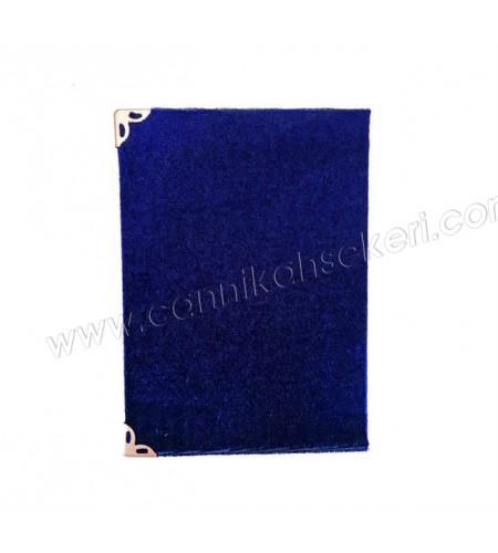 YASİN KİTAP ORTA BOY HEDİYESİ LACİVERT 10x14cm P1 -