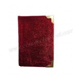 Yasin Kitap Küçük Boy 7*10 Cm Bordo Renkli