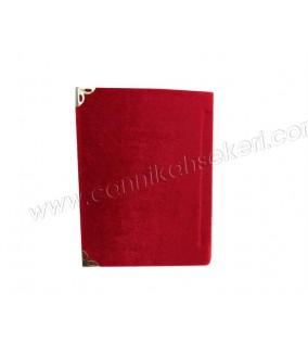 Yasin Kitap Küçük Boy 7*10 Cm Kırmızı Renkli
