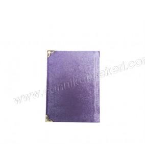 Yasin Kitap Küçük Boy 7*10 Cm Lila Renkli