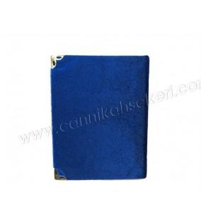 Yasin Kitap Küçük Boy 7*10 Cm Saks Mavi Renkli