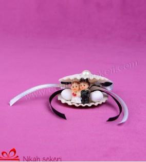 Biblolu Deniz Kabuğu Nikah Şekeri DK9