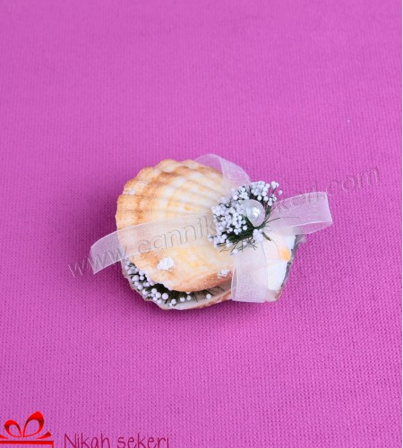 Deniz Kabuğu Nikah Şekeri DK7