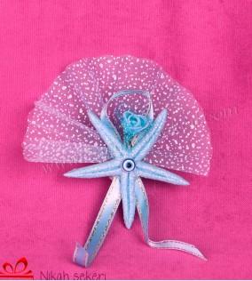 Mavi Deniz Yıldızı Nikah Şekeri DY11