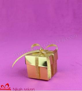 Sarı Kutu Nikah Şekeri KT38