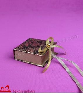 Kitap Kutu Nikah Şekeri KT46