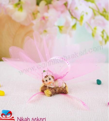 Çiçek Topu Kız Bebek Şekeri